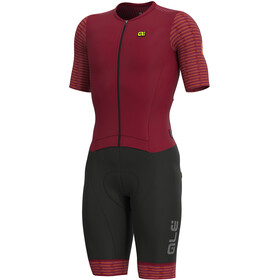 Alé Cycling R-EV1 Fuga SS Unitard Herrer, masai red/fluo orange